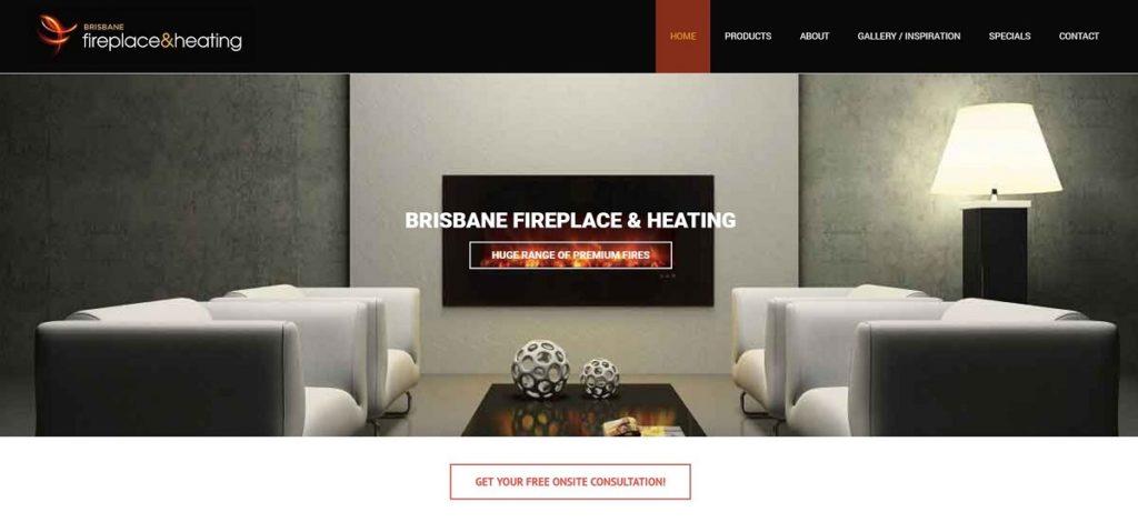 Brisbane Fire and heating Website
