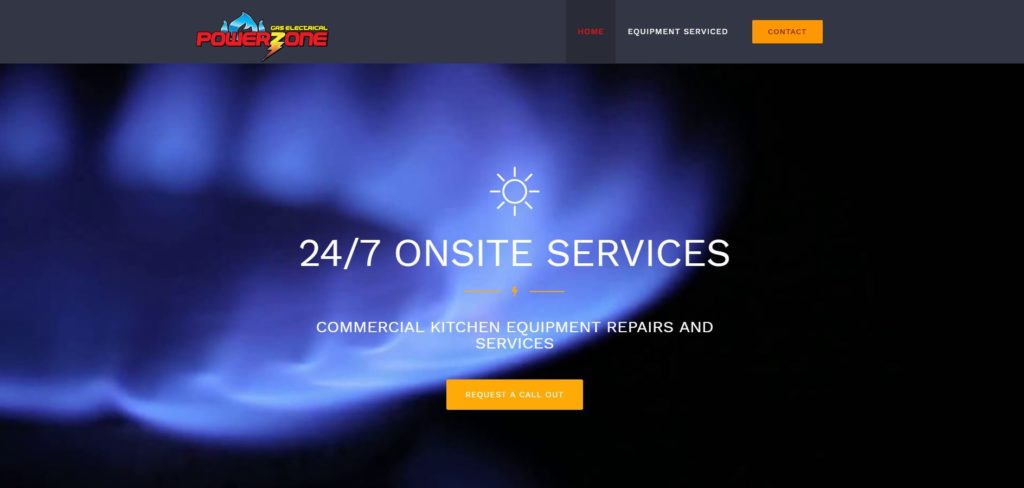 Gas Electrical Powerzone Website